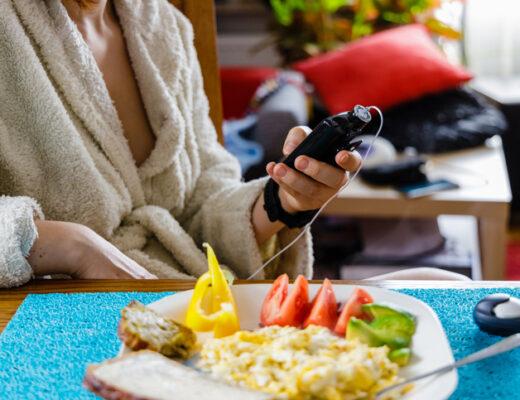 om insulinpumpen kunde tänka, lunch