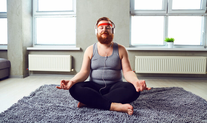 5 Tips för att misslyckas med nyårslöftet, fet man vill träna