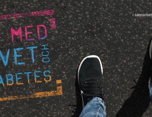 Promenadutmaningen toppbild - Gå med Livet och Diabetes