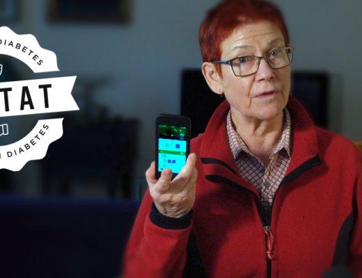 Louise Hamilton testar MySugr