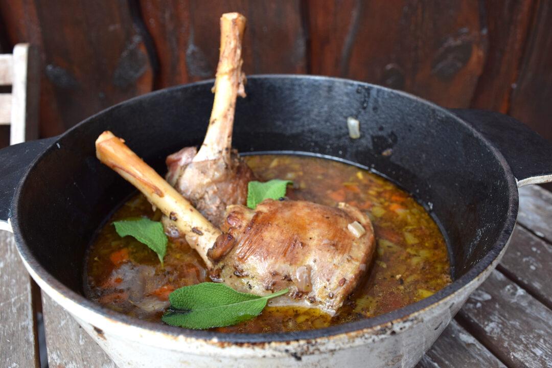 Recept på lammlägg i gryta