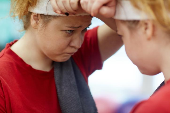 Kvinna känner skam över att ha diabetes typ 2
