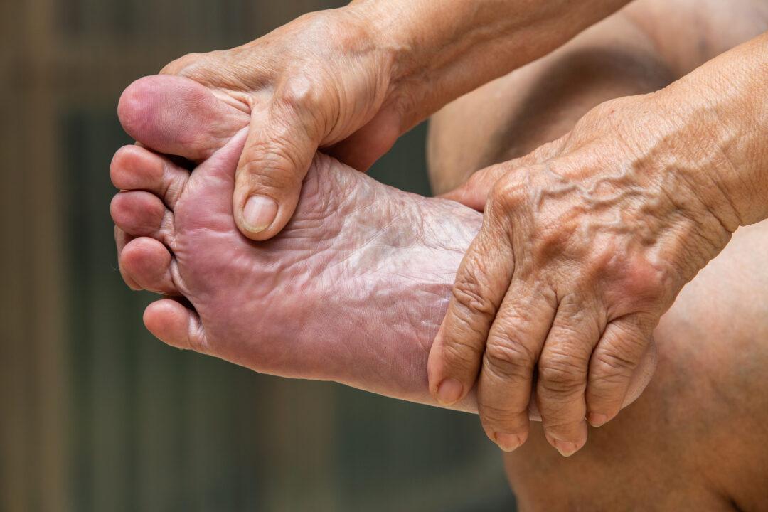 Som diabetiker måste du vara vän med dina fötter