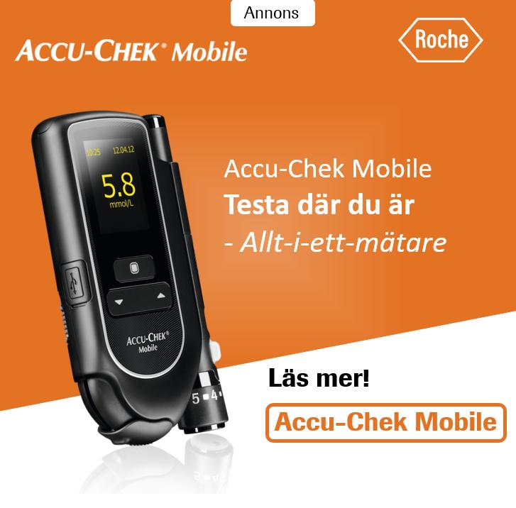 Accu-Chek Mobile blodsockermätare